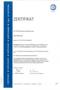 zertifikat_mariacak_fluchtplan